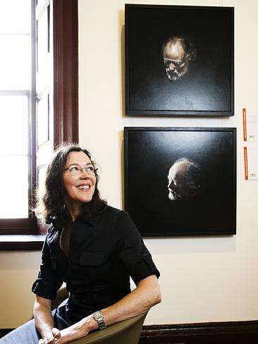 Louise Heaman, Portraits of Bill Henson which won the Doug Moran Portrait Prize. Image from http://www.heraldsun.com.au/entertainment/arts/paintings-of-bill-henson-wins-150000-doug-moran-portrait-prize/story-fni0fcgk-1227105829260.