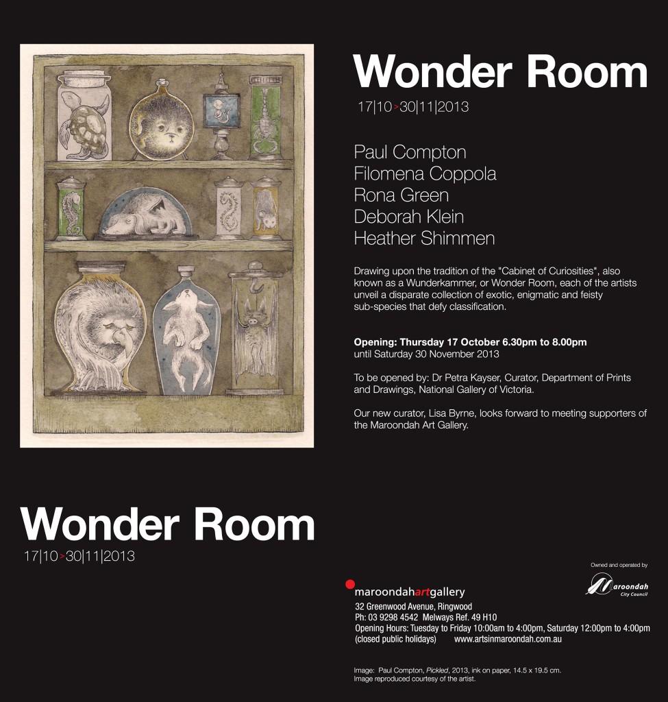 Wonder Room Invite