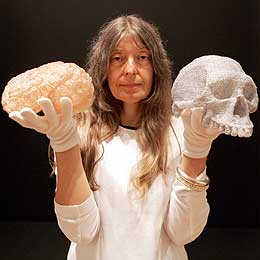 Fiona Hall representing Australia in the 2015 Venice Biennale. Image taken from http://w3.unisa.edu.au/unisanews/2005/August/main2.asp